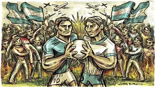 Del Futbol a la Guerra la Guerra Del Futbol
